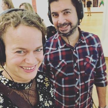 Journalist Sjoukje Dijkstra nam haar man Cetin Enc mee voor nieuwe eerste ervaringen tijdens de N8 van Amsterdam